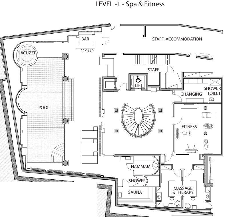 Chalet edelweiss ski courchevel 1850 france ultimate for Ski chalet floor plans