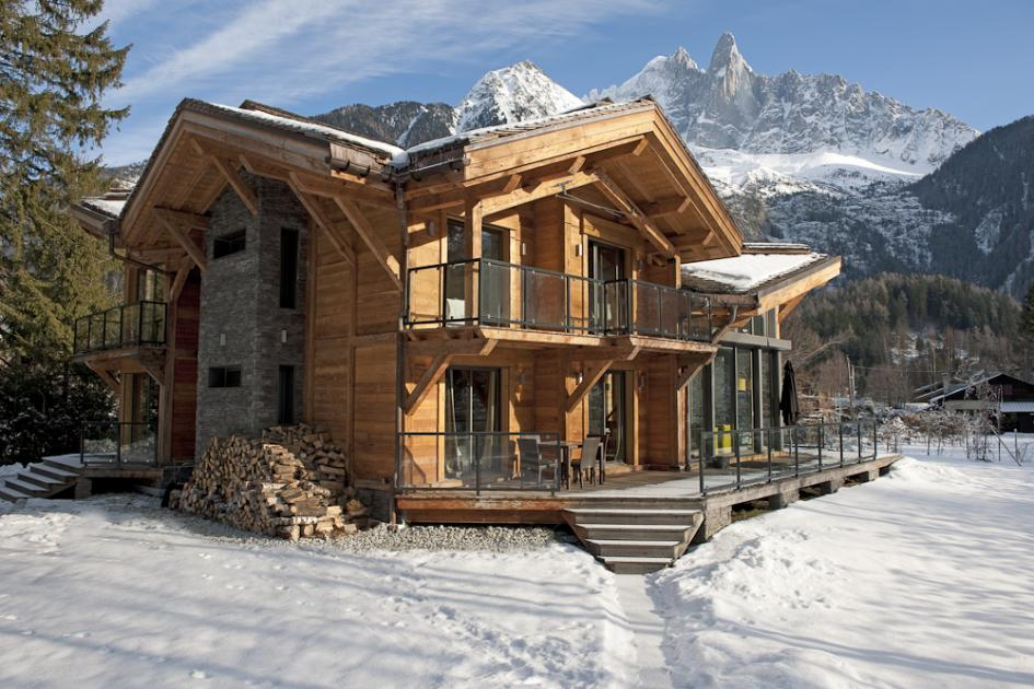 Chalet cragganmore ski chamonix france ultimate luxury for Disegni di casa chalet