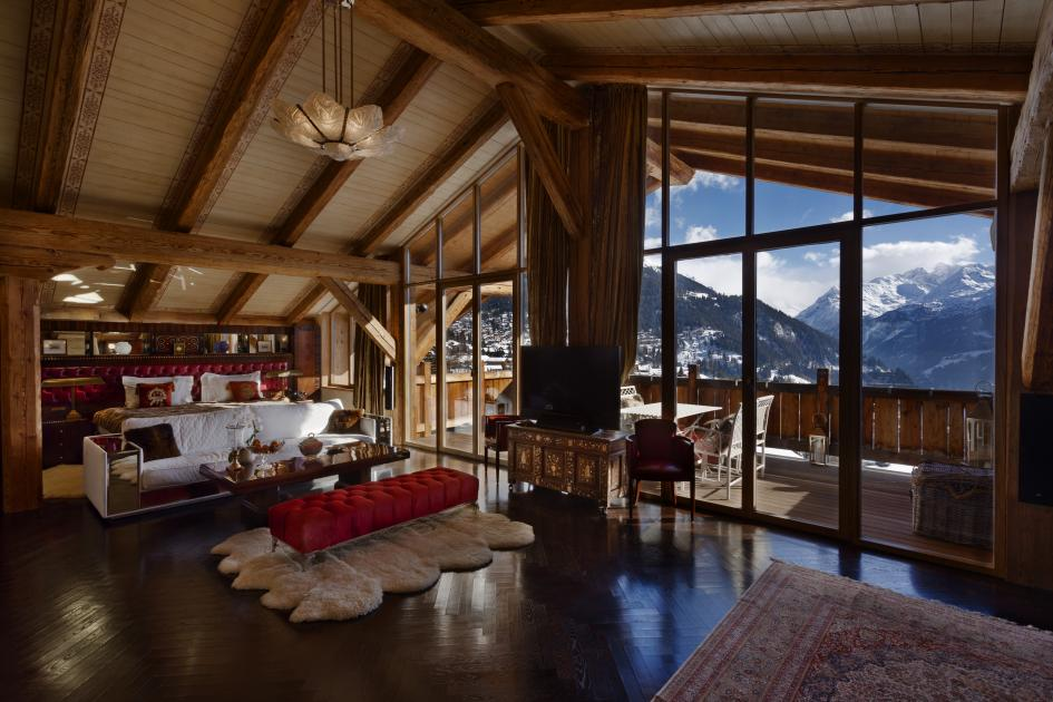 Chalet Truffe Blanche Ski Verbier Switzerland Ultimate