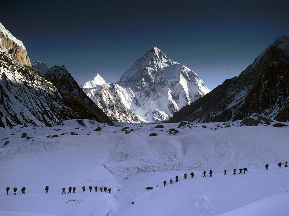 K2 climbers
