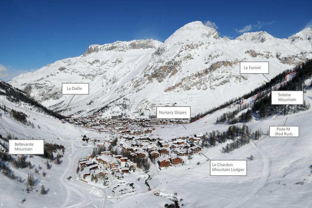 Le Chardon Mountain Lodges Location
