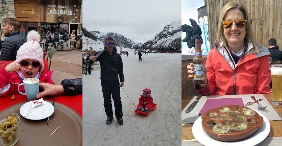 Creating new memories in Val d'Isere