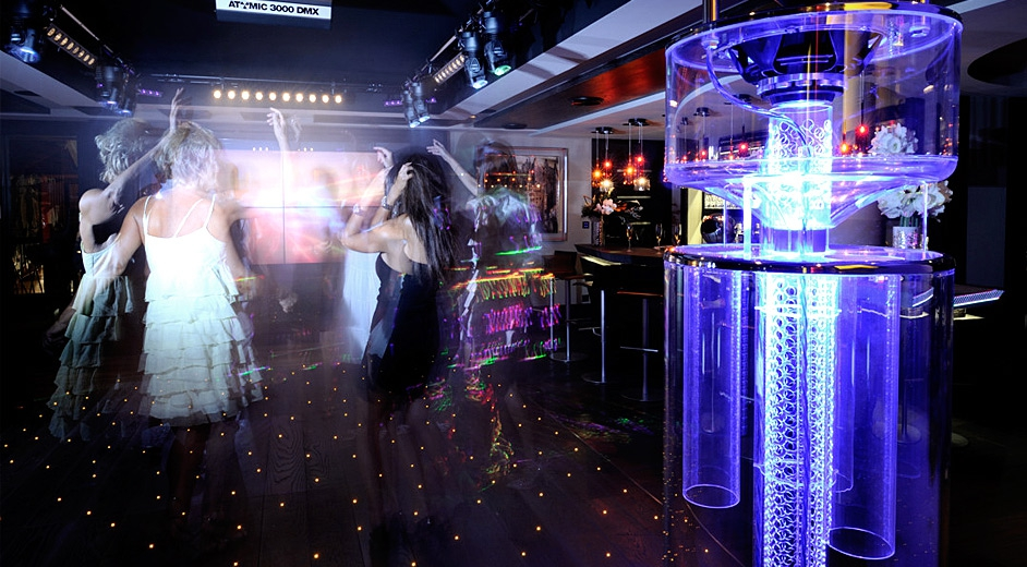 Nightclub front