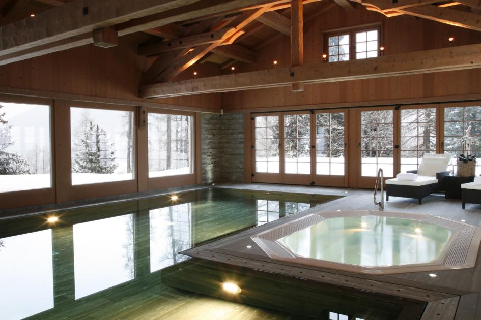Tivoli Lodge, Davos - Swimming Pool and Hot Tub