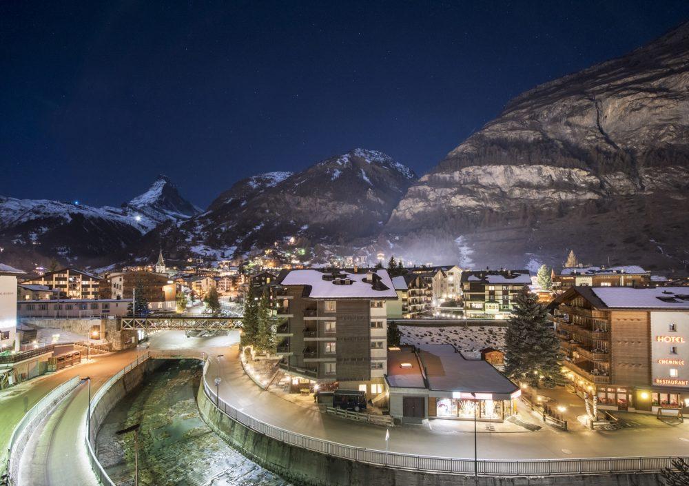 The View from Chalet Aconcagua, Zermatt