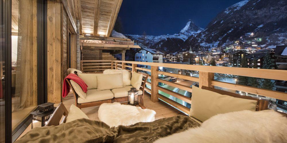The View from Chalet Elbrus, Zermatt