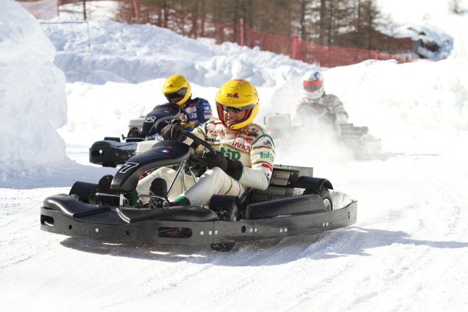 Snow Karting, Cervina - Credit: www.fulldrivingexperience.com