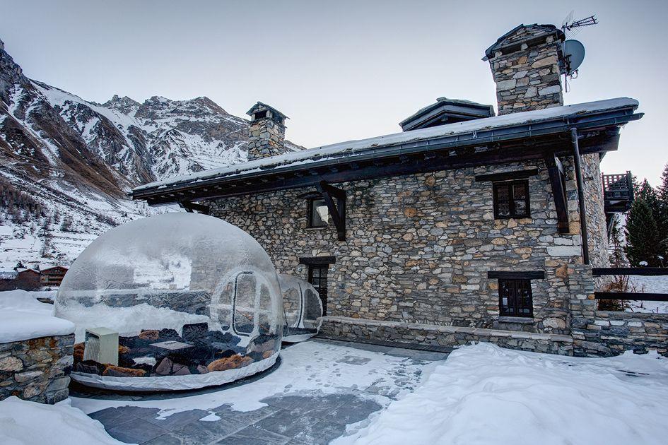 Corporate ski Chalet Domaine Toit du Monde