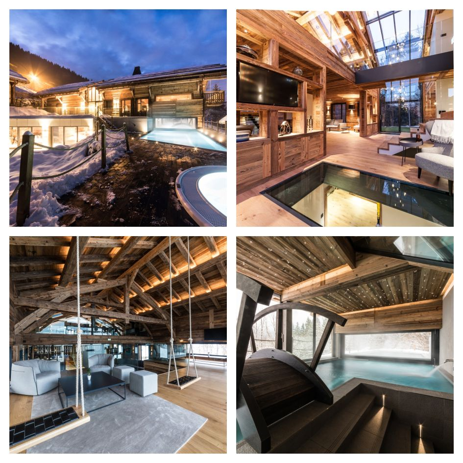 The Best Luxury Ski Lodges- Chalet Joux Plane