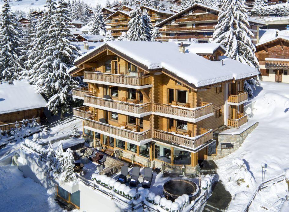 Catered ski short break chalets