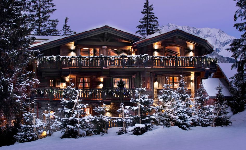 Luxury Ski Lodge - Chalet Le Petit Chateau