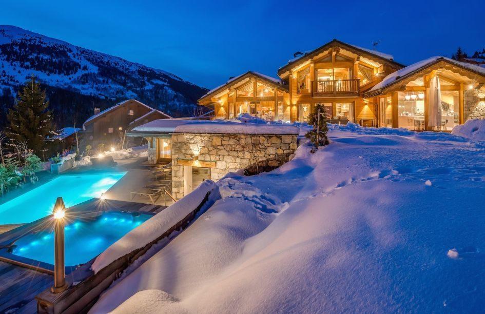 Luxury ski short break chalet