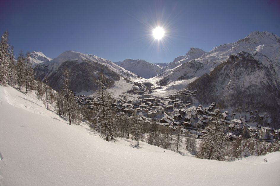 luxury chalets in Val d'Isere