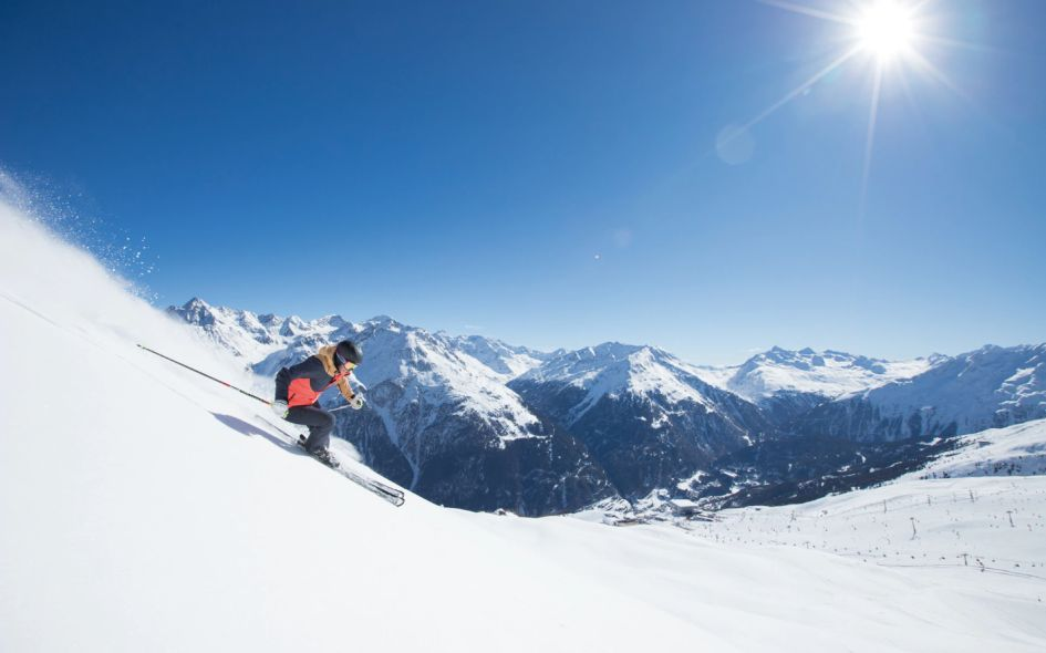 Snow is one of the reasons to go spring skiing