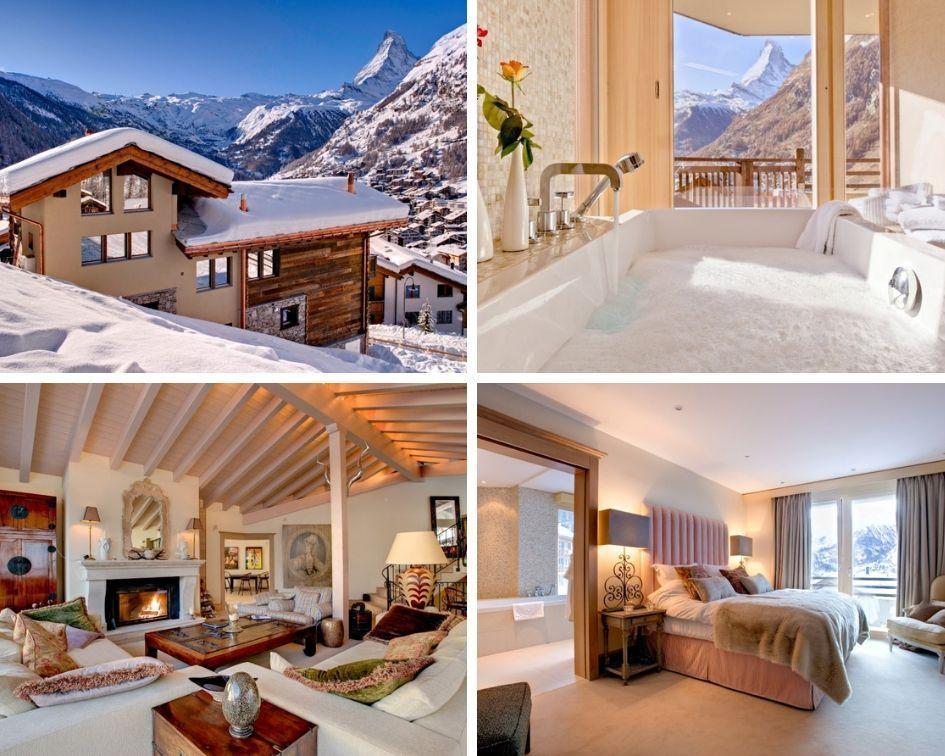 chalets in Zermatt