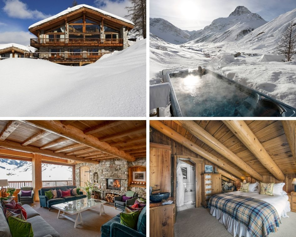 luxury group ski holiday