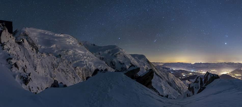 La Vallee Blanche, skiing in Chamonix, off-piste skiing