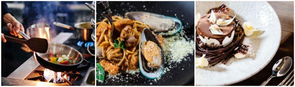 gourmet food, gourmet chalet catering