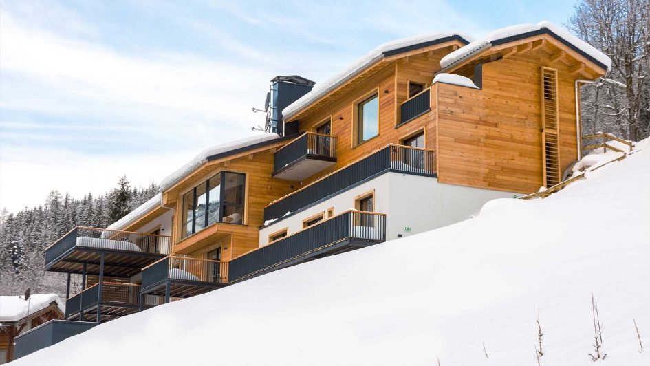 luxury ski chalet, Chamonix, Corporate ski chalet