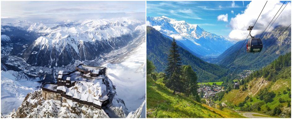 Chamonix in the summer, Chamonix in the Winter, Chamonix all year round