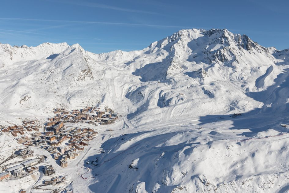 Val Thorens, Skiing, Three Valleys