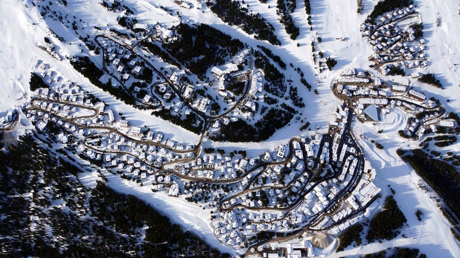 Courchevel 1850, Ski Resort, The Three Valleys