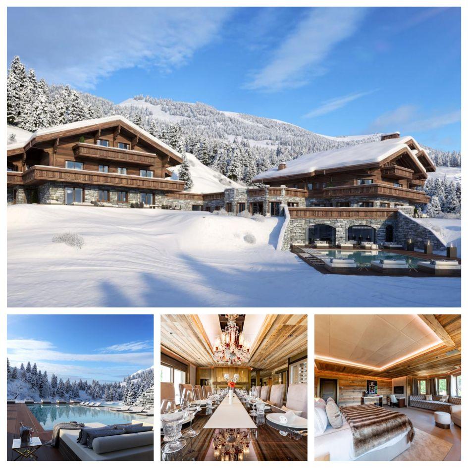 Ultima Crans Chalets, Crans Montana luxury chalet, ski holiday in Crans Montana, luxury spa facilities