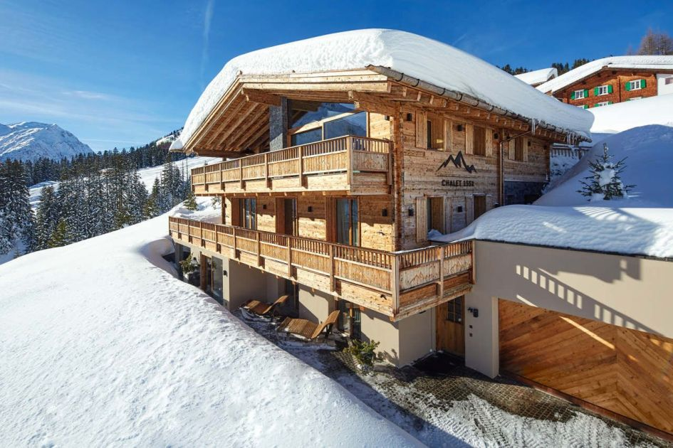 luxury chalet, private chalet, exclusive chalet, Lech