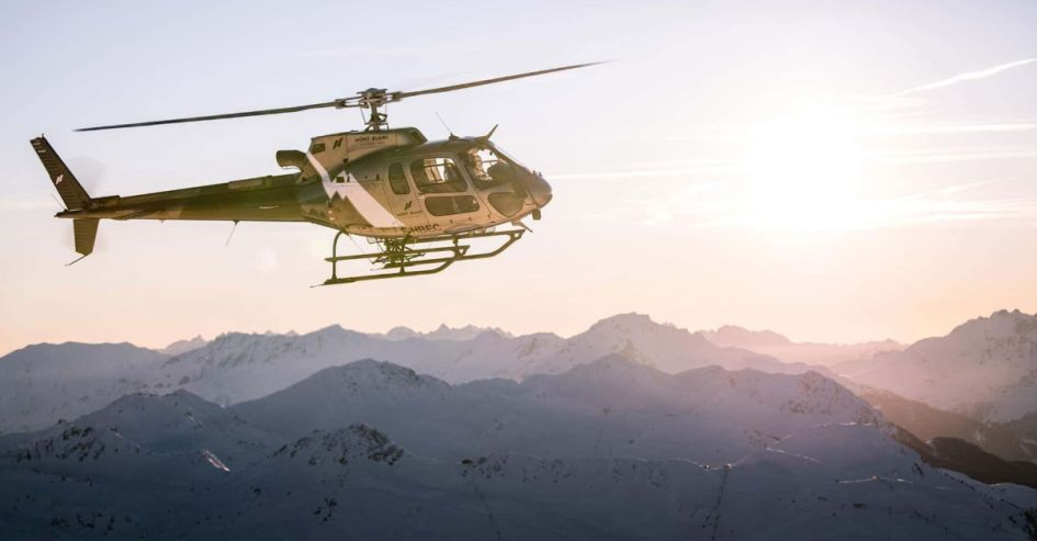 Mont Blanc Helicopter Transfer