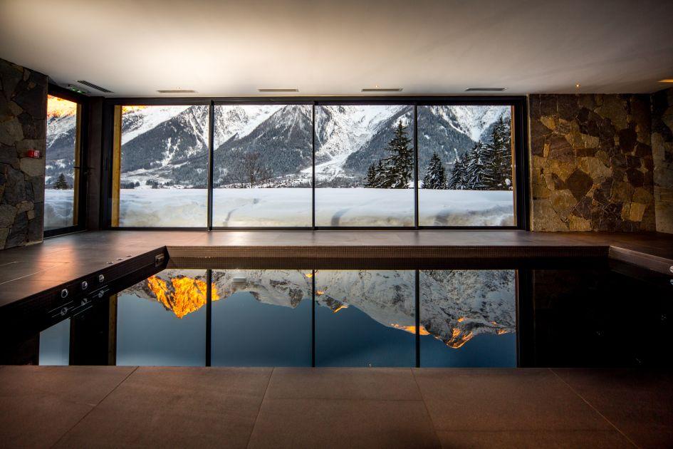 Mont Blanc, Chamonix, Ski resort, winter