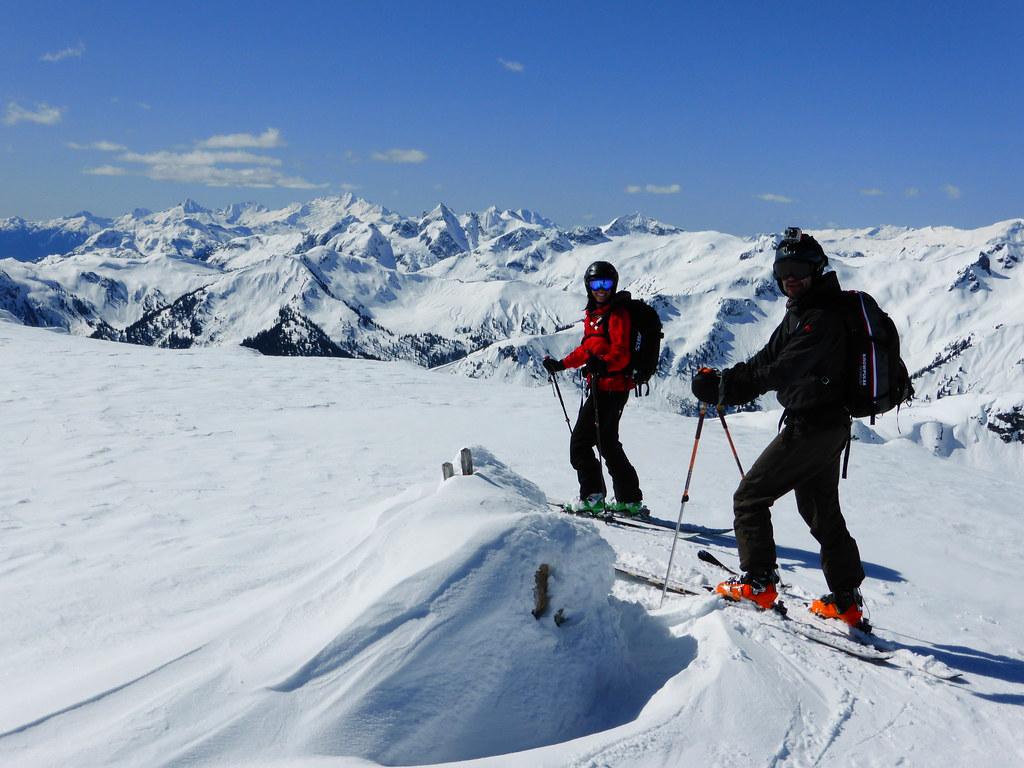 Ski holiday, winter, parents, adults, skiing