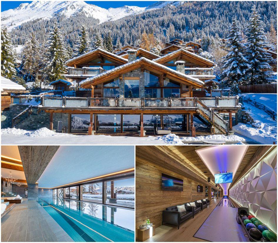 luxury ski chalets in Verbier, Verbier luxury ski chalet, ski chalet verbier, verbier ski chalet