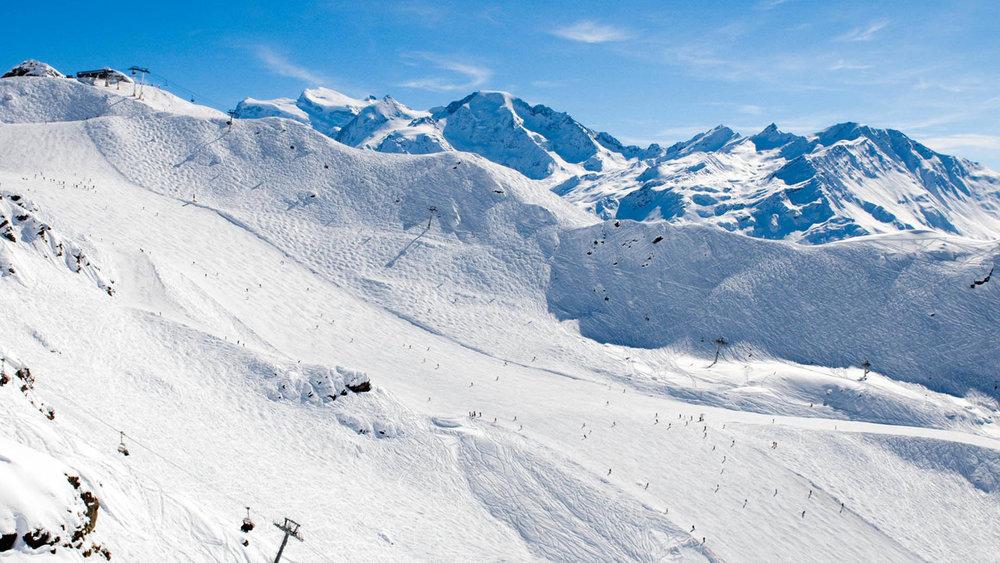 verbier ski area, ski runs in Verbier, skiing in Verbier, Verbier skiing