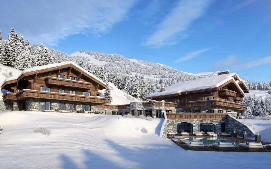 Christmas in Switzerland, New Year in Switzerland, Chalets for New Year Crans Montana, Chalets for Christmas Crans Montana