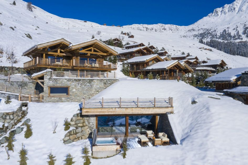 luxury chalet Verbier, Verbier retreat, winter retreat, winter escape