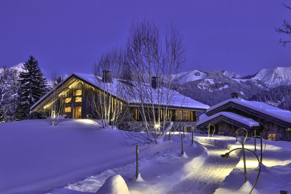 Scenic luxury chalet holiday, luxury mountain holiday Megeve, Megeve mountain retreat