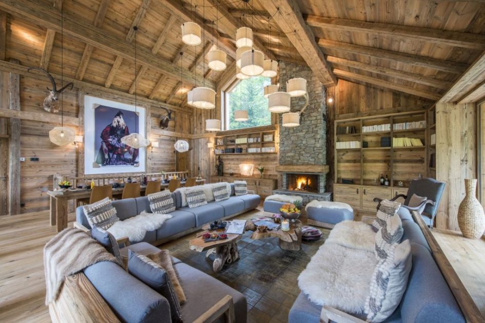 luxury ski chalet Val d'Isere, winter retreat, luxury winter retreat, luxury mountain holiday