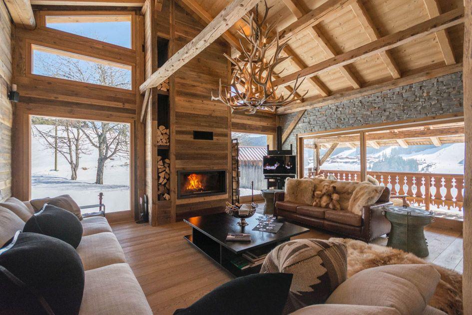 luxury winter retreat Les Gets, Les Gets luxury chalet, alpine retreat, luxury retreat in the Alps