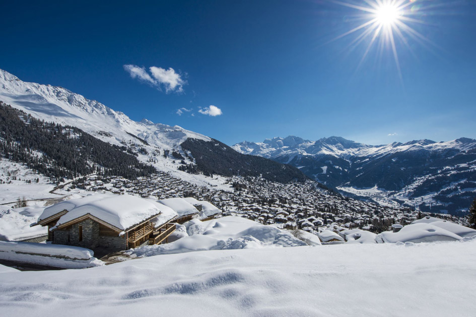 luxury alpine retreat, luxury winter retreat, remote chalets in the alps, private chalet holiday