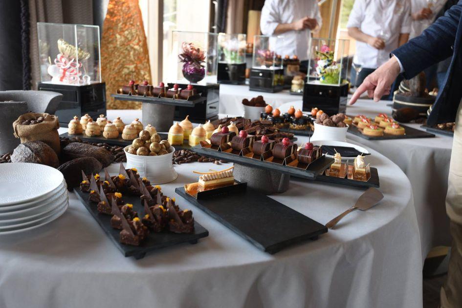 best patisserie in Courchevel 1850, Michelin star chef Courchevel 1850, Sebastien Vauxion patisserie