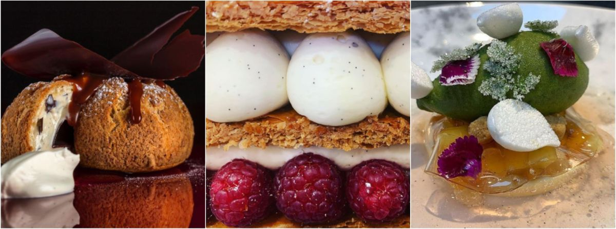 Michelin star dessert restuarant, dessert restaurant in Courchevel 1850, best restaurants in Courchevel 1850